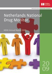 Netherlands National Drug Monitor - Research and Documentation ...