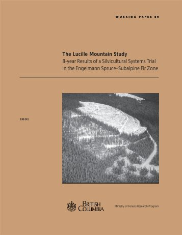 Download WP59 - Ministry of Forests - Government of British Columbia