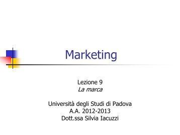 marketing internazionale lettere e filosofia