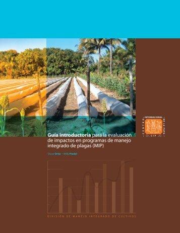 Guía introductoria para la evaluación de impactos en programas de ...