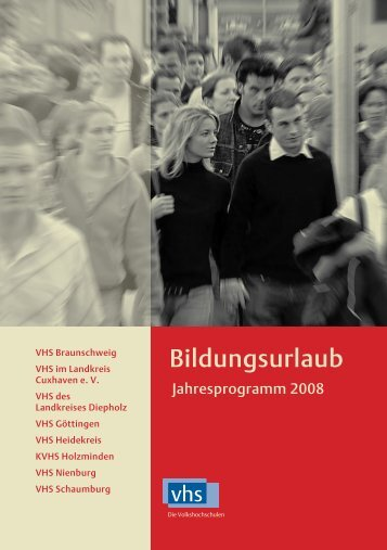 Bildungsurlaub - Landesverband der Volkshochschulen ...