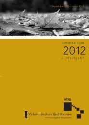 2012 - VHS Bad Waldsee