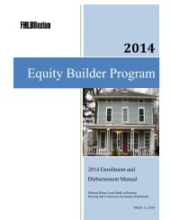 EBP Enrollment/Disbursement Manual - Federal Home Loan Bank ...