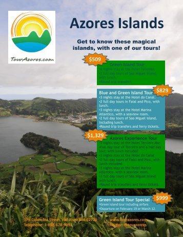 Azores Flyer - Tour Azores
