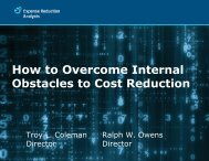 How to Overcome Internal - The ESOP Association