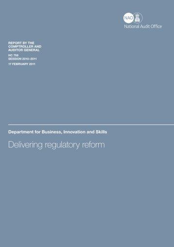 Executive summary (pdf - 82KB) - National Audit Office