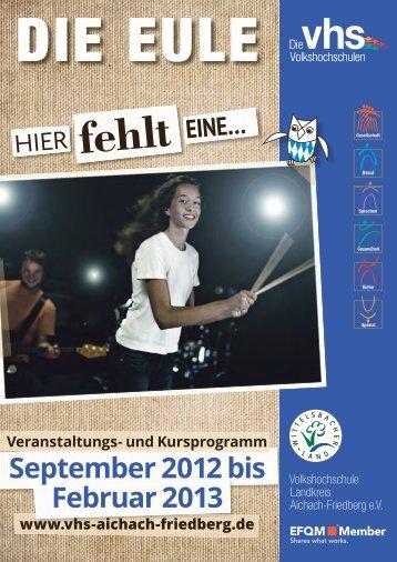 PDF-Datei zum Herunterladen - Volkshochschule Landkreis ...
