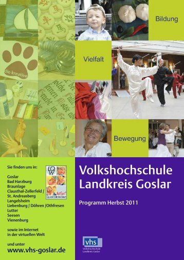 Ausstellung - Volkshochschule Landkreis Goslar