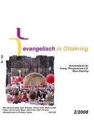 Gemeindebrief der Evang. Pfarrgemeinde A.B. Wien-Ottakring Nr. 198