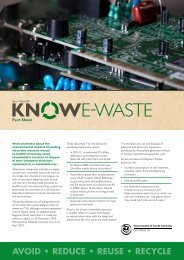 Get to know e-waste (fact sheet) - Zero Waste SA - SA.Gov.au
