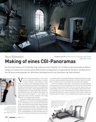 Making of eines CGI-Panoramas - Viaframe