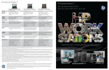 HP recommends Windows® 7. HP recommends ... - Hewlett Packard