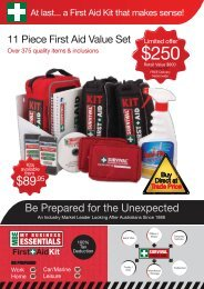 first aid brochure - Splash Magazine