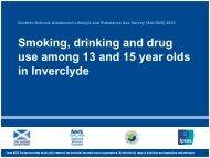 Inverclyde - Drug Misuse Information Scotland - Information Services ...