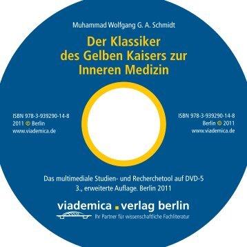 Der Klassiker des Gelben Kaisers zur Inneren Medizin