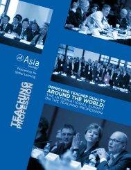 Improving Teacher Quality Around the World - Asia Society