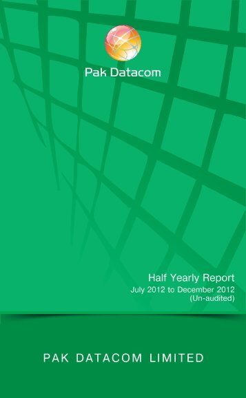 Financial Report July 2012 to Dec 2012 - Pak Datacom Ltd