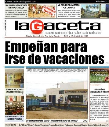 Más de 5 mil licencias de alcoholes en Sinaloa - SEMANARIO LA ...