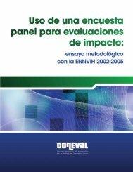 Uso de una encuesta panel para evaluaciones de impacto - Coneval