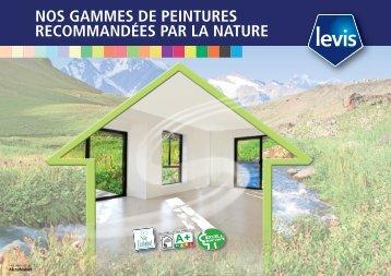 Télécharger notre brochure environnementale - Levis