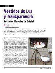 muebles en vidrio.indd - Revista El Mueble y La Madera