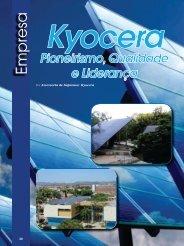 Kyocera: Pioneirismo, Qualidade e Liderança - Revista Ecoenergia