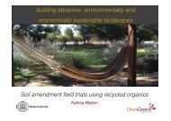 Soil amendment field trials using recycled organics - Compost for Soils