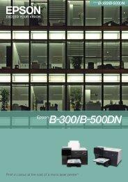 Epson B-300 - Printer.com