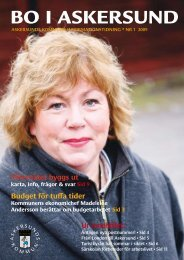 Bo i Askersund 1 2009.pdf - Askersunds kommun