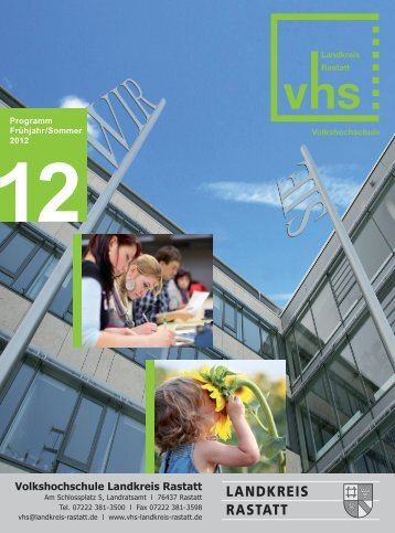 Seminare für Unternehmen - VHS Landkreis Rastatt