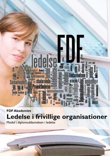 Ledelse i frivillige organisationer - Leder - FDF