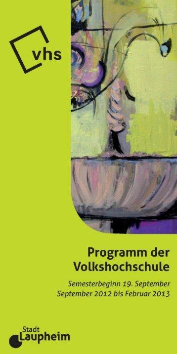 Download - VHS Laupheim