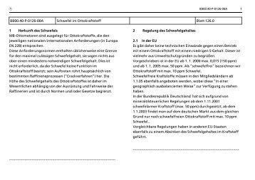 m BB00.40>P>0126>00A Schwefel im Ottokraftstoff Blatt 126.0 1 ...