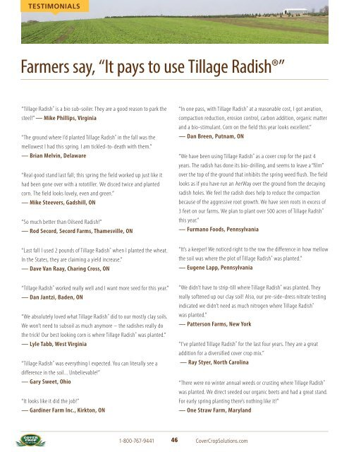 tillage-radish-resource-guide