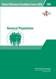 National BSS 2006: General Population. - HIV/AIDS Data Hub