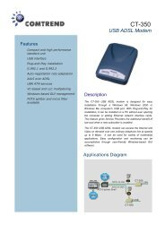 CT-350 USB ADSL Modem