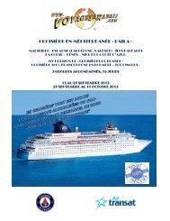 CROISIÈRE EN MÉDITERRANÉE « BAILA » - Voyages à rabais