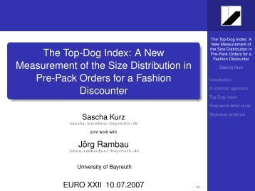 The Top-Dog Index: A New Measurement of the Size Distribution in ...