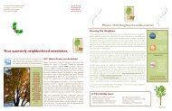 Your quarterly neighborhood newsletter. 2011 ... - Ministry Health Care