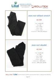 Pantalons Jeans pour Handi ROLLITEX by LILIAL