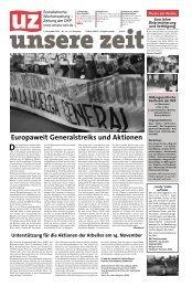 Europaweit Generalstreiks und Aktionen - DKP