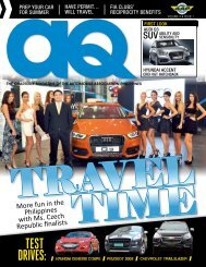 Volume 4 Issue 1 - Automobile Association Philippines