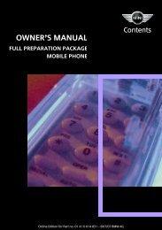 Owner's Manual - MINI Cooper Info