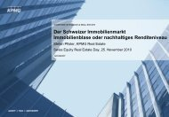 Der Schweizer Immobilienmarkt Immobilienblase Oder Nachhaltiges
