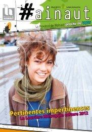 Pertinentes impertinences - La Province de Hainaut