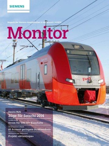 Züge für Sotschi 2014 - Siemens