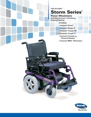 Storm Series® - Mobility Solutions Inc.