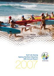 Surf Life Saving Sydney Northern Beaches 48th Annual Report