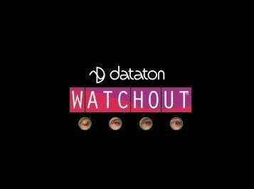 Dataton WATCHOUT User's Guide