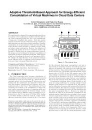 Adaptive Threshold-Based Approach for Energy ... - The CLOUDS Lab